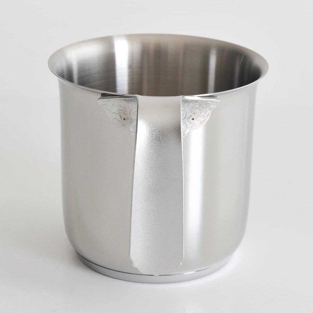 Alessi Dressed Milk Boiler Stainless Steel Mirror Polished
