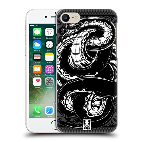 Head Case Designs Serpente Bestie Selvagge Cover Retro Rigida per Apple iPhone 7 / 8