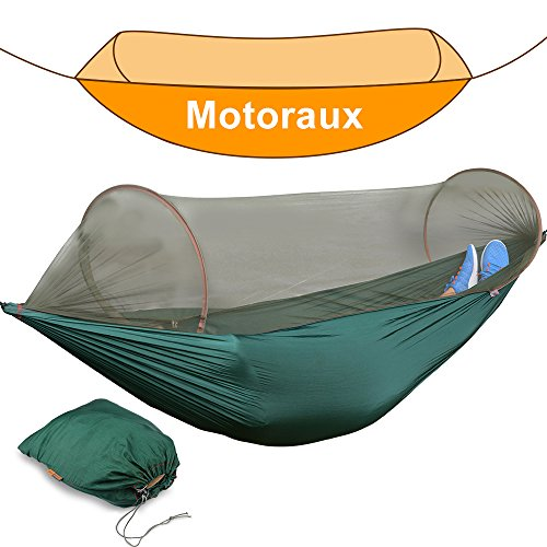 Motoraux Portable Backpacking Supporting Parachute