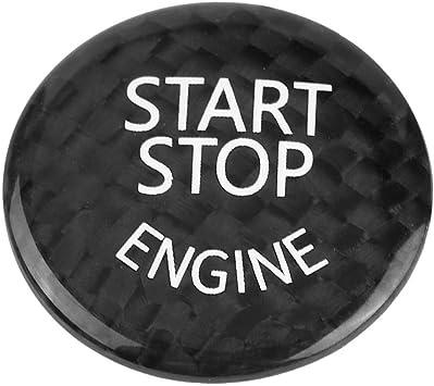 Keenso Start Stopp Schalter Aufkleber Automotoren Für Fahrgestell E90 E91 E92 E60 X1 E84 X3 E83 X5 E70 X6 E71 X6 E72 Schwarz Auto