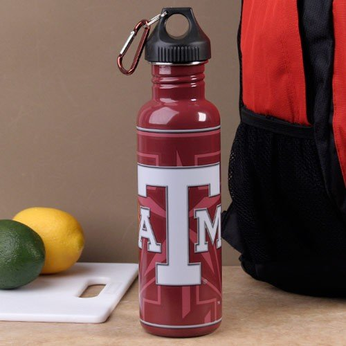 Aggies A&m Water Texas (Texas A&M University Large Metal Water Bottle)