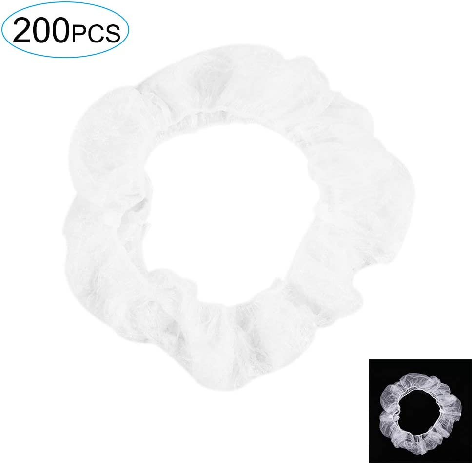 Coperchio di Sicurezza Trasparente monouso Anti-Polvere Volante Coprivolante in plastica Elastica Bianca GoolRC 100PCS Coprivolante monouso Universale