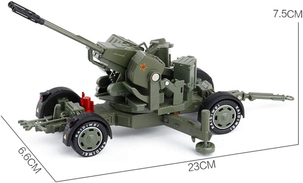 Milit/är Modell Dekoration Spielzeug Metall Simulation Auto f/ür Kinder Spielzeugauto Zubeh/ör Kinder Geschenk LTOOTA 1//35 Skala Flugabwehrrakete Flugabwehr Legierung Automodell