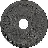 Ekena Millwork CM18BISGS Bailey Ceiling Medallion, Steel Gray