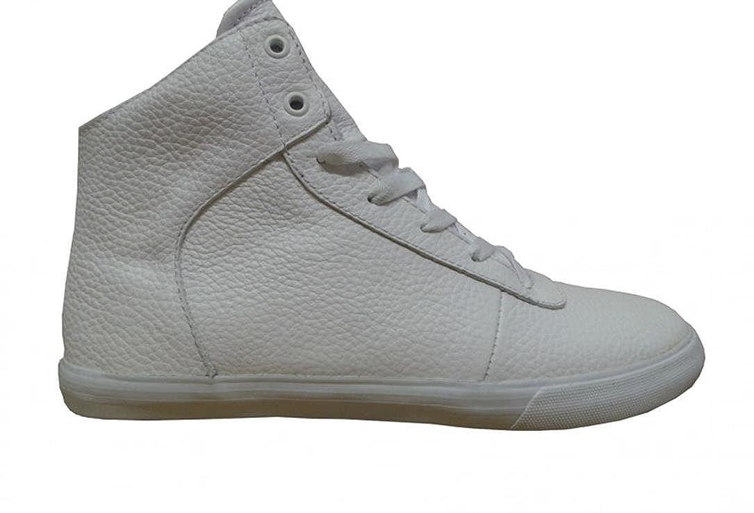 Supra Skateboard Schuhe Cuttler Cuttler Cuttler High Weiß Weiß 3c2c62