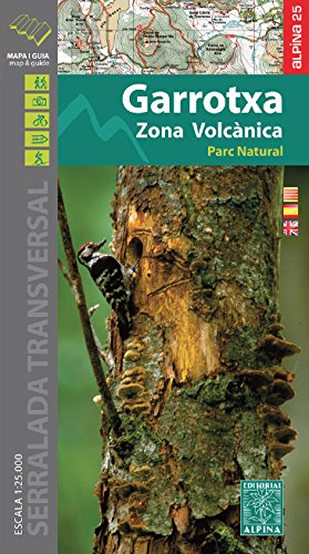 Descargar Libro Garrotxa - Zona Volcánica, Mapa Excursionista. Escala 1:25.000. Español, Català, English. Editorial Alpina. Vv.aa.