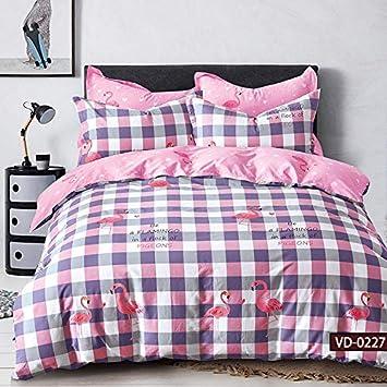 Febe Bettwäsche Flamingo Bettbezug 135x200 Cm 100 Baumwolle