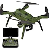 MightySkins Protective Vinyl Skin Decal for 3DR Solo Drone Quadcopter wrap cover sticker skins Molon Labe