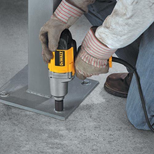 Factory-Reconditioned DEWALT DW292KR Heavy-Duty 1/2-Inch 13mm Impact Wrench Kit w/Detent Pin Anvil by DEWALT (Image #5)