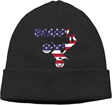 GDSG5/&4 American Flag Men//Women Great Thermal Winter Ski Beanie Cap