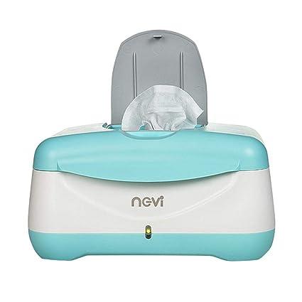 Liteness Dispensador de toallitas para pañales, toallitas para bebés Termostato de la Caja del Calentador