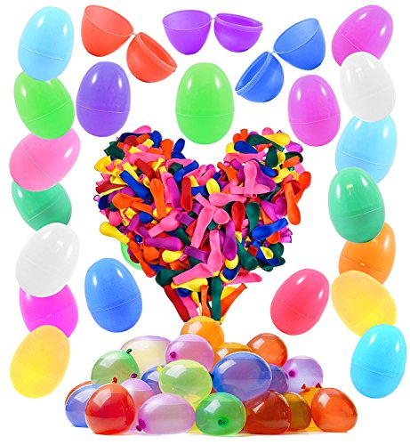 48 Easter Eggs with 500 Water Balloons Ready to Fill - Fun S