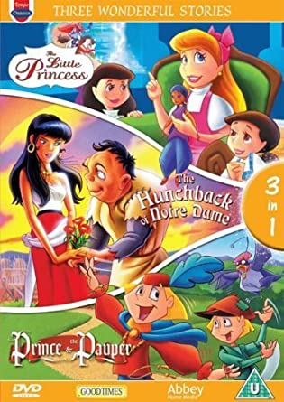 Amazon Com Three Wonderful Stories The Little Princess The Hunchback Import Anglais Movies Tv