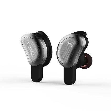 Auriculares Bluetooth,Syllable D9 Auriculares deportivos Estéreo Bluetooth 4.2 Manos Libres micrófono con Caja de