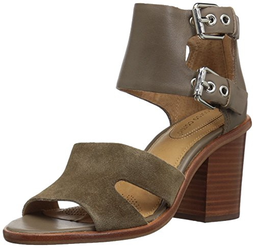 Opportunity Shoes - Corso Como Women's September Heeled Sandal,taupe burnish calf/taupe suede,6.5 Medium US