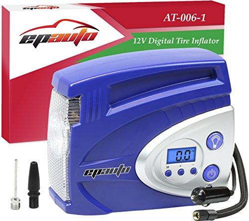 EPAuto Portable Compressor Inflator Pressure