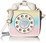 Betsey Johnson Mini Phone Crossbody, Rainbow