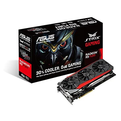 Amazon.com: ASUS STRIX-R9FURY-DC3-4G-GAMING AMD Radeon R9 ...