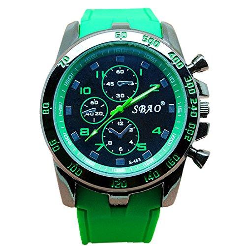 Men Wrist Watch - SBAO Stainless Steel Luxury Sport Analog Quartz Modern Men Fashion Wrist Watch - Fashion Modern Male