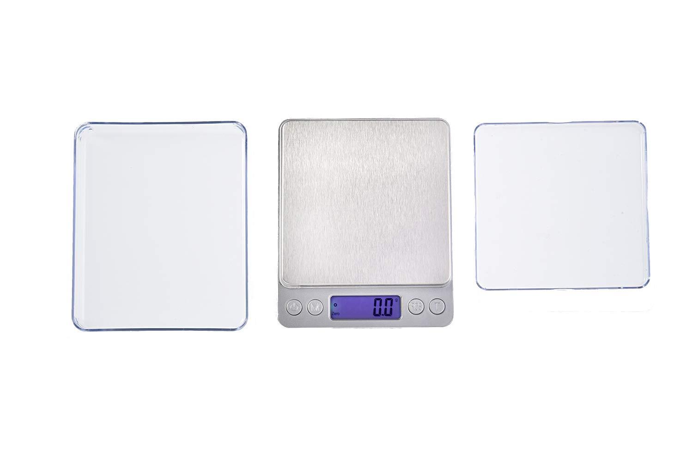 I2000-2000g0.1 Mod Quantum Abacus Balance digital de pr/écision//p/èse-lettre//microbalance//tr/ébuchet//balance de poche 2kg // 0,1gr