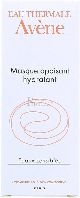 Avéne Mascarilla Calmante E Hidratante Piel Sensible 50 ml: Amazon ...