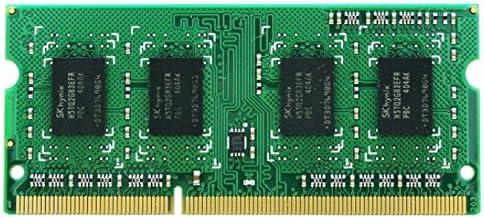 Synology 15-130004370 - Memoria RAM (4 GB, DDR3, 1.6 GHz, 1.5 V), Color Verde