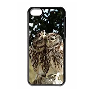 LINMM58281Diy owl iphone 5/5s Hard Shell Case Fashion Style UN21104LINMM582811