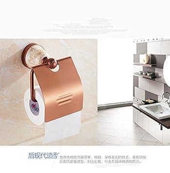 Haisen Toiletten Papier Halter Gold Rose Gold Tissue Halter