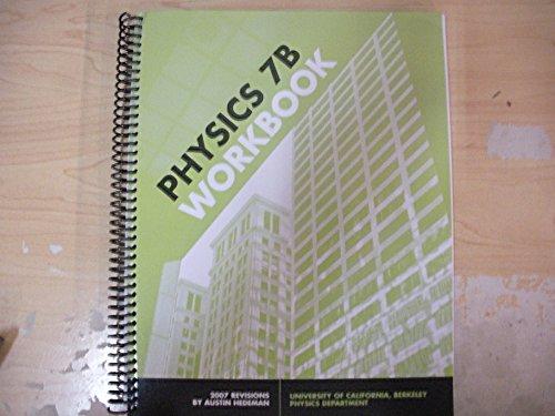 Physics 7 B Lab Manual (Custome Uc Berkley) (P)