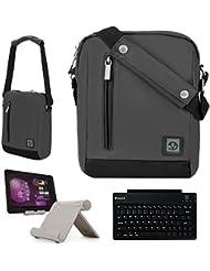 Durable Nylon Lightweight Compact Messenger Bag For Sony Xperia Z3, Xperia Z2, Xperia X, Xperia S Tablet Laptops...