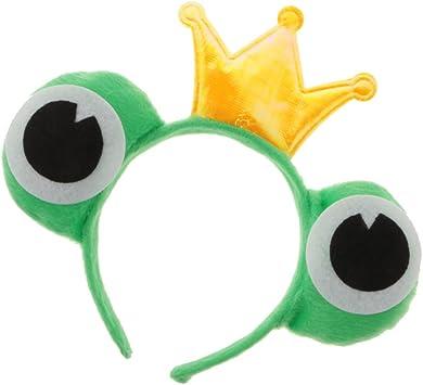 Grün Haarreif Frosch-Augen 3 Stück