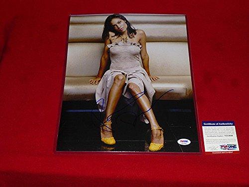 Autographed Sexy Rosario Dawson Signed PSA/DNA 11x14 Photo