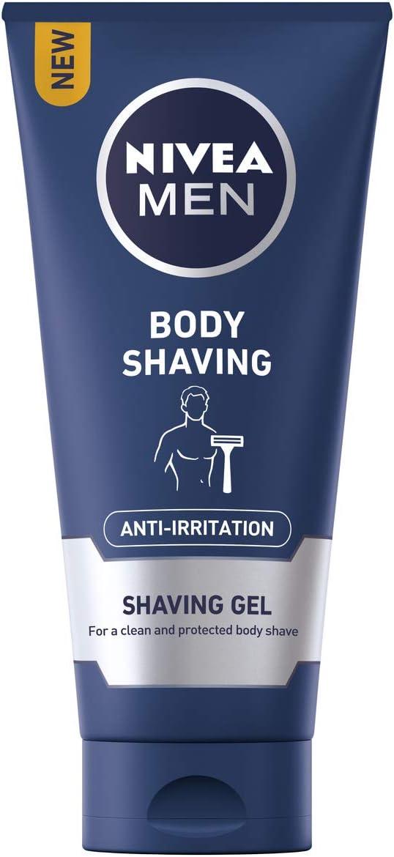 Nivea Hombres Cuerpo anti-irritation de afeitado afeitado Gel, 200 ...