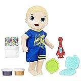 BABY ALIVE Ba Snackin Luke Blonde Doll