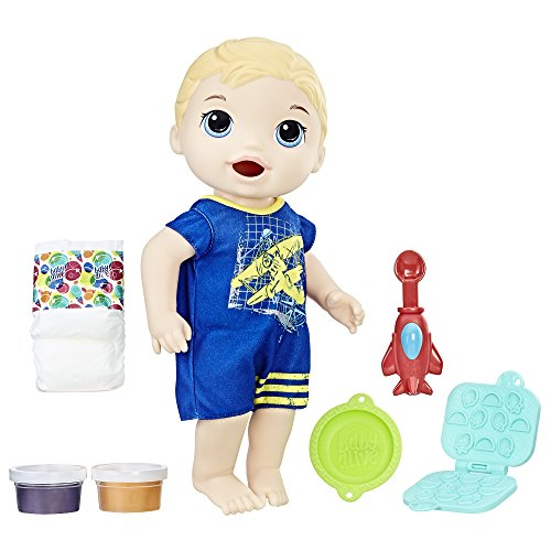 : Baby Alive Super Snacks Snackin' Luke (Blond)