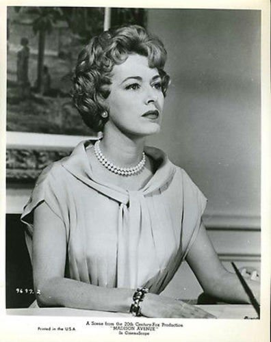 (Eleanor Parker Madison Avenue Original 8x10