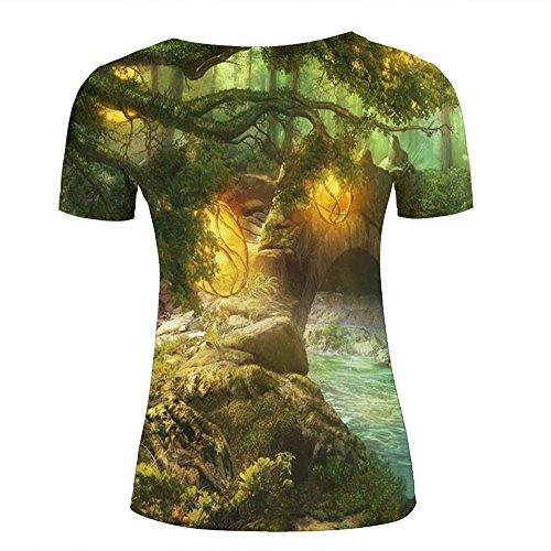 Camiseta Para Custom Chenjing Mujer C 5Ua7q7xfw