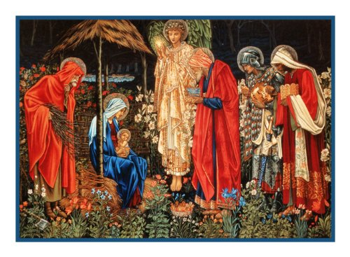Orenco Originals Adoration of The Magi by William Morris Counted Cross Stitch Pattern
