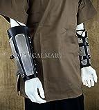Medieval Splinted Plate Bracers Steel Arm Guard SCA LARP