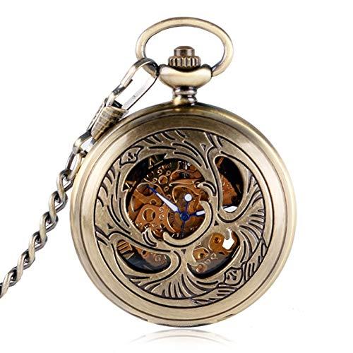 Reloj de Bolsillo mecánico clásico Mascota Phoenix Diseño de ...