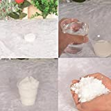 Jesse Pack of 10 Artificial Snow, Magic Instant Snow Fluffy Super Absorbant Home Ornament Party Decoration for Christmas Wedding Festival