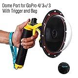 YOEMELY Dome GoPro Hero 4 Hero 3+ Hero 3 - 6 inch GoPro Underwater Dome Port