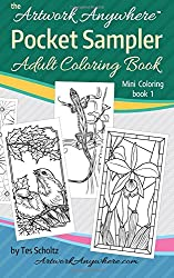 Artwork Anywhere Pocket Sampler: Adult Coloring Book (Mini Coloring) (Volume 1)