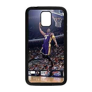 Samsung Galaxy S5 Cell Phone Case Black_ha17 dunk kobe bryant sports face Minlu