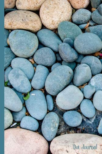(Dot Journal: Rocks Pebbles and Beach Sand Dot Grid Journal - Dotted Matrix Note Taking Lists Hand Lettering Strategic Planner)