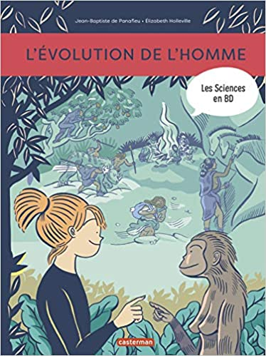 Amazon Fr Les Sciences En Bd L Evolution De L Homme