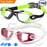 Swim Goggles, Pack of 2, Swimming Goggles Review and Comparison