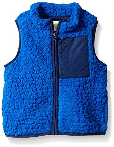crazy-8-baby-multi-sherpa-vest-blue-6-12-months