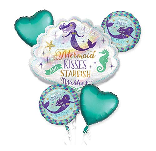 Anagram Balloon Bouquet MERMAID KISSES AND STARFISH WISHES