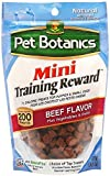 Pet Botanics Mini Training Reward Treats – Beef – 4 Ounce 2-pack For Sale